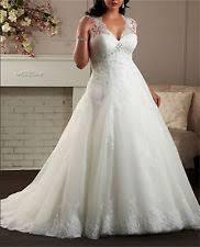 wedding dresses for larger brides plus size wedding dresses ebay