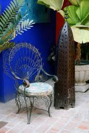 Mexican Patio Furniture by Otomi Embroidery And Mexican Pendant Lights Featured In This