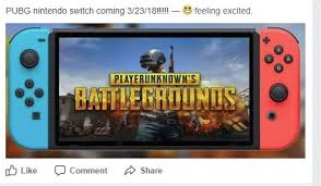 pubg nintendo switch v pubg for switch announced video games 4chan