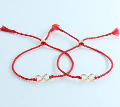 lucky charm red bracelet images Couple red string of fate 14k gold filled lucky cord line thread jpg