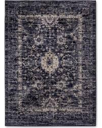 bargains 20 off indigo blue vintage distressed area rug 7 u0027x10