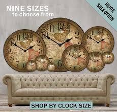 large wall clock customizable large wall clocks big clocks the big clock store