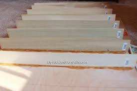 diy wood nail polish rack aelida