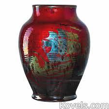 Antique Ceramic Vases Antique Pilkington Pottery U0026 Porcelain Price Guide Antiques