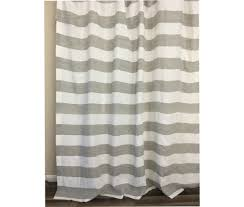 Grey And White Striped Curtains Grey And White Striped Linen Curtain Cabana Stripe Curtains