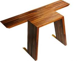 Teak Computer Desk Contemporary Furniture With Environmental Concern By Osisu