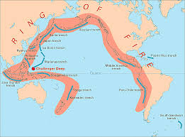 Where Is Alaska On A Map by The Ring Of Fire Pacific Ocean