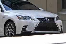 lexus is250 f sport bumper spyshots lexus ct 200h f sport autoevolution