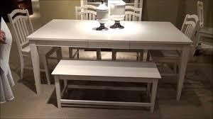 6 piece summerhill rectangular leg dining room set by liberty