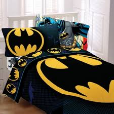 Batman Comforter Full Size From The Rooftop
