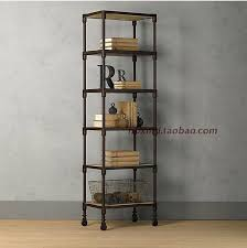 bookcases ideas wrought iron shelves snd furniture with iron