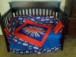 Ny Giants Crib Bedding New York Giants Crib Bedding Set