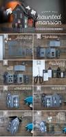 haunted mansion home decor paper craft haunted house dioramas mansion and cuttings