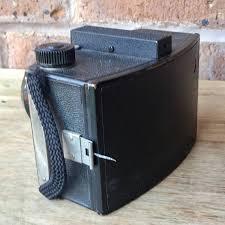 pioneer photo box vintage black ansco pioneer box