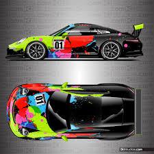 porsche 911 race car porsche racing livery wrap jackson ki studios