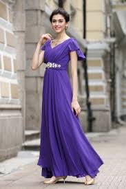 robe violette mariage robe de soirée bellerobeblog