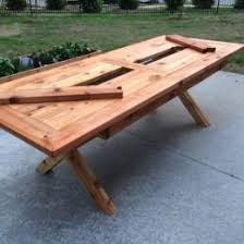 best 25 outdoor table plans ideas on pinterest wood work table