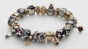 pandora bracelet with beads images Pandora bracelets diamond daves jpg