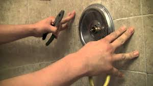 Replacing Bathtub Faucet How To Repair A Moen Shower Faucet Step By Step Youtube