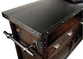 Metal Bar Cabinet 695146 Howard Miller Rustic Distress Wine Bar Cart Console