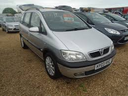 opel zafira 2003 interior used vauxhall zafira 2003 for sale motors co uk