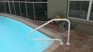 Swimming Pool Handrails King U0027s Pool Fencing Pool Handrail Installation 877 521 5569