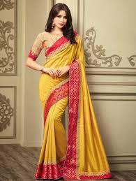 engagement sarees pre wedding functions sarees for mehndi haldi sangeet engagement