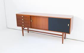 italian mahogany credenza sideboard 1950s
