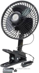12 volt clip on fan 12 volt quick clip multi mount oscillating fan