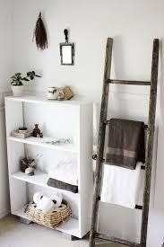 Leaning Ladder Bookshelves by Bathroom Sdw5781 Lr Ls Bathroom Ladder Shelf Wall Storage