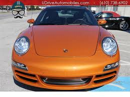 orange porsche targa 2007 porsche 911 targa 4s 10k miles 6spd paint to sample cocoa lthr