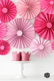 paper fan party backdrop