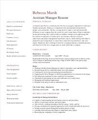 Resume Examples Retail Management by Resume Example For Retail Template Billybullock Us