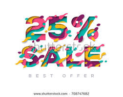 black friday sale poster abstract paper stock vector 699032854