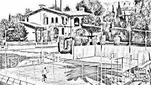 free gta5 tennis court sketch background other art listia com