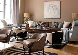 Modern Living Room Decorating Theme Ideas Home Design And In - Safari decorations for living room