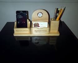 Personalized Desk Organizer Personalized Wood Desk Organizer Simple Wood Desk Organizer Tips