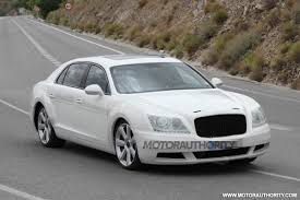 bentley flying spur 2014 2014 bentley continental flying spur spy shots