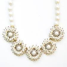 pearl bib statement necklace images Garden pearl necklace flower pearl statement necklace by jpg
