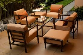 Wrought Iron Patio Furniture Manufacturers by Furnitures Make Your Patio More Comfy With Chic Woodard Furniture