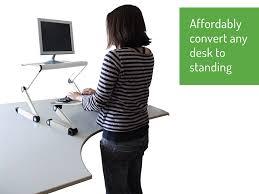 Ergonomic Desk Standing by Amazon Com Workez Standing Desk Conversion Kit Adjustable