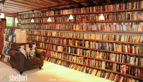 Best Bookshelves For Home Library by Author Neil Gaiman U0027s Personal Basement Library Want And I Love