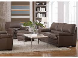 Natuzzi Brown Leather Sofa Natuzzi Living Room Transitional Italian Leather Sofa B674
