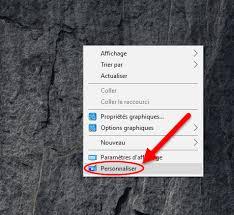 supprimer icone bureau restaurer les icônes du bureau dans windows 7 8 ou 10