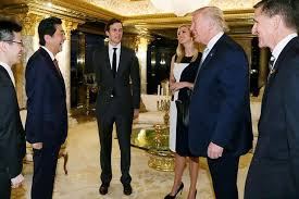 see inside donald trump u0027s new york penthouse as he meets japanese