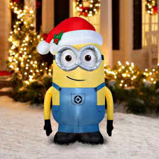 decorations despicable me minion lighting