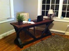 Diy Rustic Desk How To Build A Rustic Desk Rustic Deck Decking And Woods