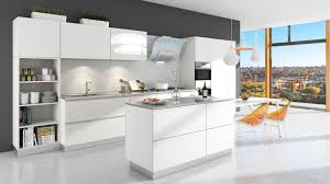 lusso cucina italian kitchen oneskin collection sunny white finish