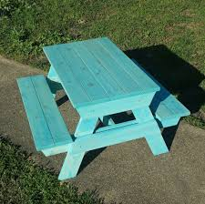How To Build A Hexagon Picnic Table With Pictures Wikihow by Kids U0027 Picnic Table 8 Steps With Pictures