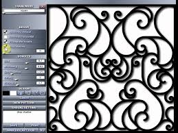 wrought iron ornaments designer дизайнер кованых узоров